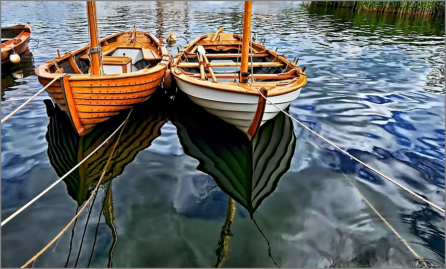 Wooden Boats in Colour | NIKON 12-24MM F/4G ED-IF AF-S DX <br> Click image for more details, Click <b>X</b> on top right of image to close