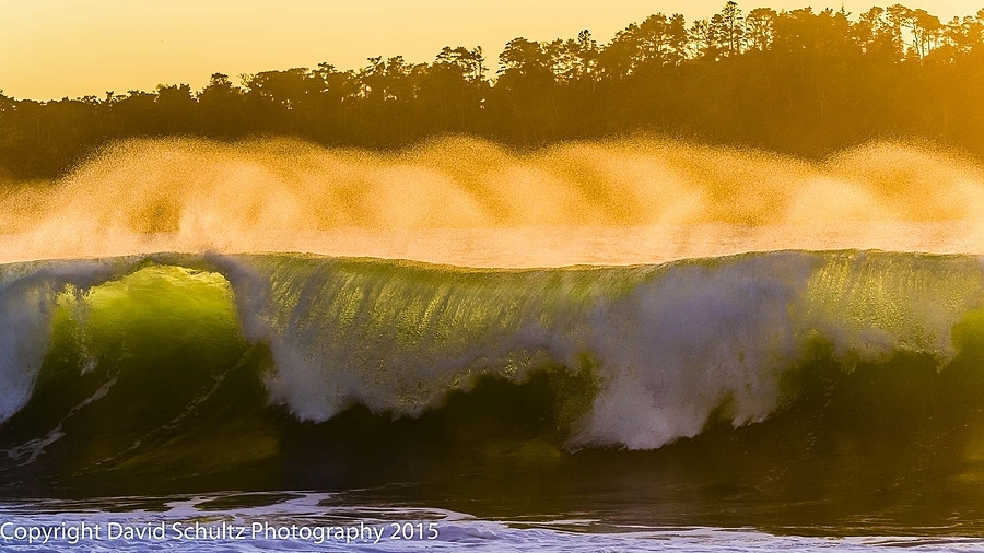 Golden hour surf break | LENS MODEL NOT SET <br> Click image for more details, Click <b>X</b> on top right of image to close